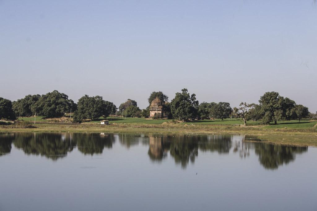 Sagar Talao in Mandu, Madhya Pradesh, India