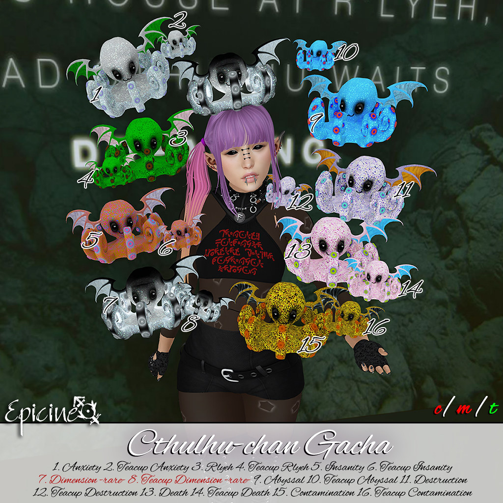 Epicine - Cthulhu-chan Gacha - SecondLifeHub.com