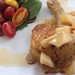 Chicken with nectarine murabba