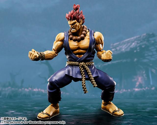 擁有鬼神屠滅之拳的霸王參戰!!S.H.Figuarts 快打旋風【豪鬼】Street Fighter Akuma ゴウキ