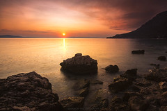 Sunset, Croatia