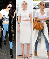 3 Tips for Styling a White T-shirt from Hollywood's Celebs