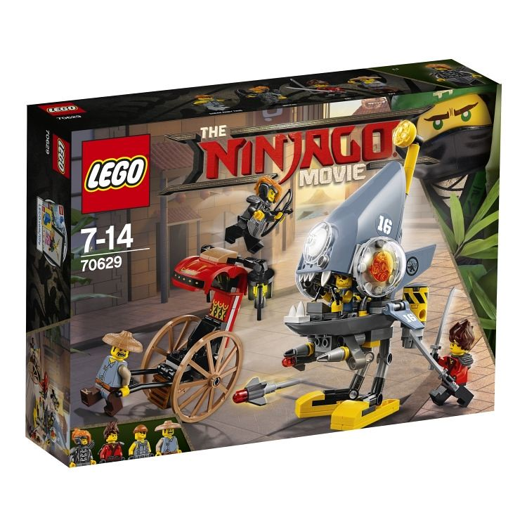 The LEGO Ninjago Movie 70629 - Piranha-Angriff