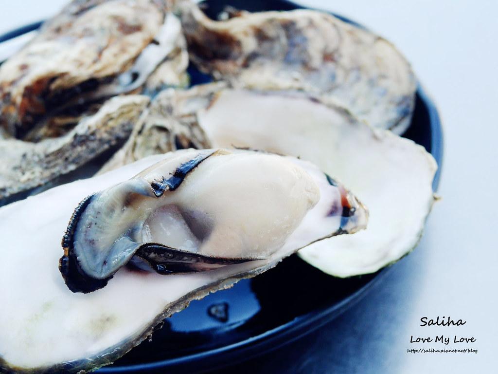 基隆外木山沙灘海鮮小吃推薦小白屋 蠔小子烤生蠔 (2)
