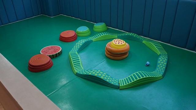 體能遊戲區@高雄童樂島親子餐廳