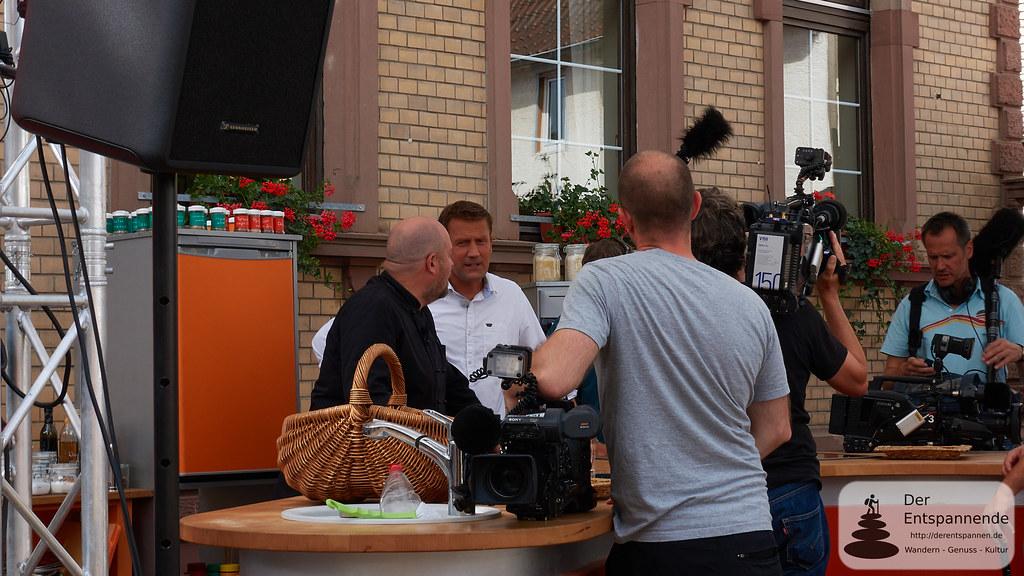 Einsatzbesprechun: Frank Brunswig und Frank Hübschen