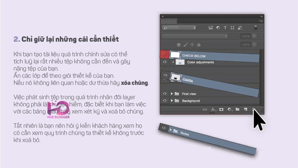 Hướng dẫn giảm kích thước tệp mà không làm giảm chất lượng trong Photoshop