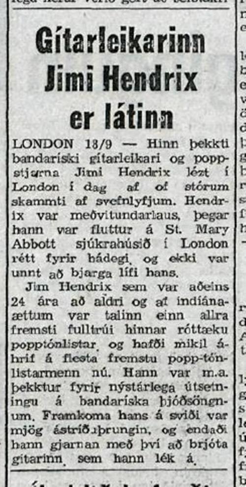 Þjóðviljinn (ICELAND) SEPTEMBER 20, 1970