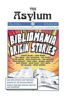 ASYLUM AUTUMN 2017 ISSUE PUBLISHED