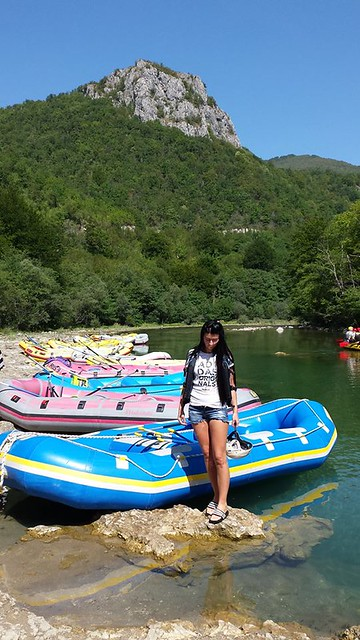 Rafting in Bosnia on the Neretva river