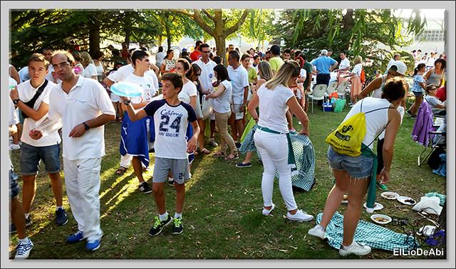 #BriviescaFiestas17 Jira campestre, entierro de San Roquín, subida de Blusas y traca Fin de Fiestas