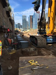 CH057A - East Approach Stub Piles Installation (08-23-2017) 2