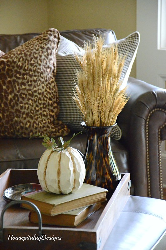 Media Room-Fall Decor-Housepitality Designs
