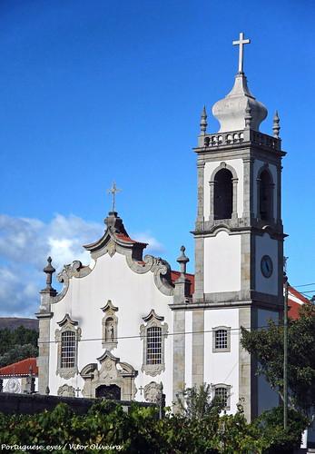 Igreja Matriz de Santa Cruz da Trapa - Portugal 🇵🇹