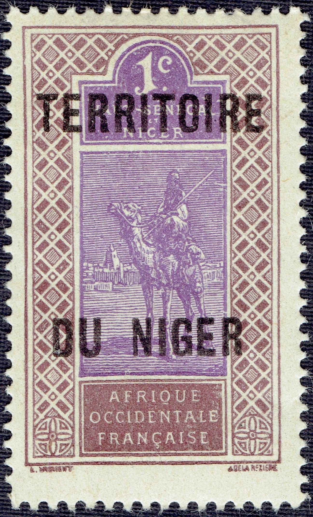 French Niger #1 (1921)