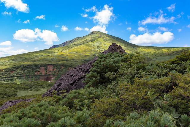 Mt.Kurikoma, Canon EOS KISS X6I, Canon EF 75-300mm f/4-5.6 IS USM