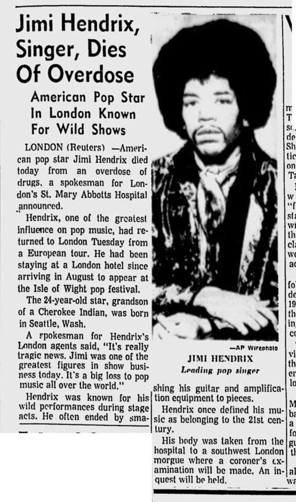 THE TOLEDO (OHIO) BLADE SEPTEMBER 18, 1970
