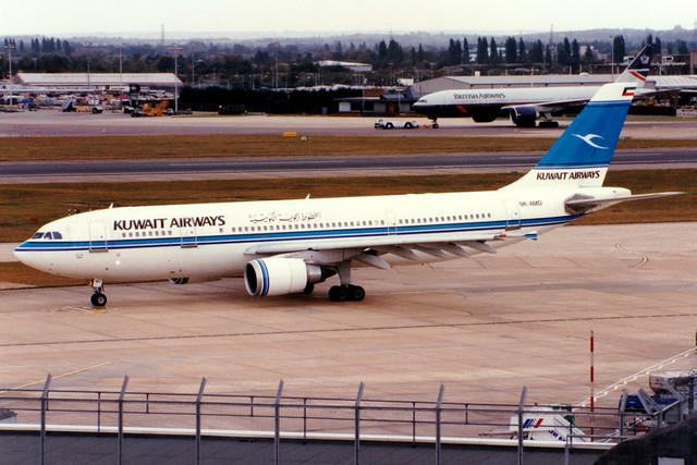 Kuwait Airways | Airbus A300-600R | 9K-AMD | London Heathrow