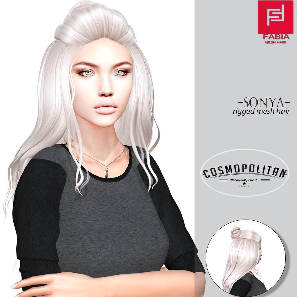 -FABIA- Mesh Hair   <Sonya> - TeleportHub.com Live!