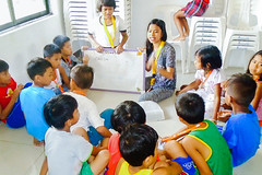 Literacy program at Manila Children's Hope Center sees signs of progress; story of one courageous girl's daily struggle and dreams for a better future