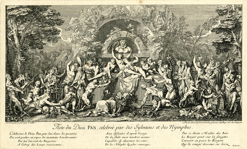 Claude Gillot - Festival of the God Pan