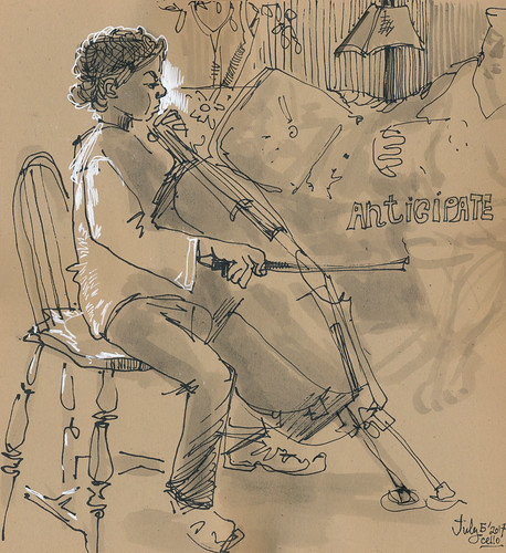 Sketchbook #106: Everyday Life - Cello.