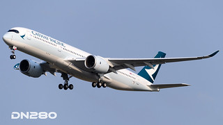 Cathay Pacific A350-941 msn 137