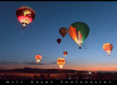 hotairballoons morning dawnpatrol glowing flight reno festival nikon nevada
