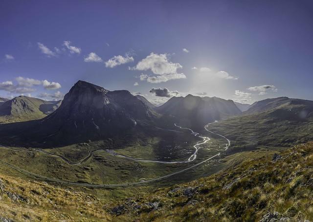 Glencoe Landscape panorama