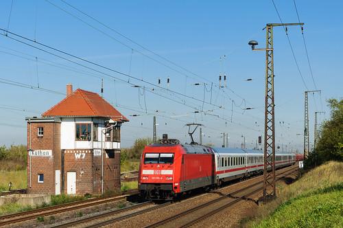IC Köln-Leipzig im Bahnhof Köthen