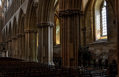 Wells Cathedral Pillars