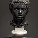 Marble portrait bust of a young African man (2)