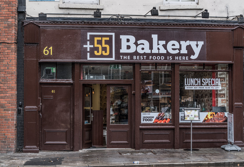 HOW MANY TIMES CAN A RESTAURANT CHANGE ITS NAME [+55 BAKERY NUMBER 61 BOLTON STREET]-1324721