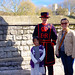 Wenji and Audrey at Tower of London