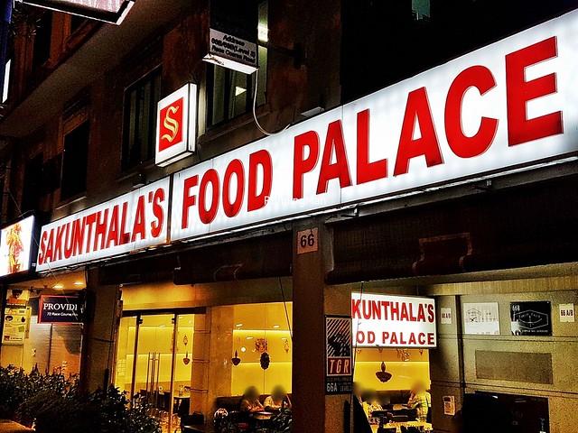 Sakunthala's Restaurant Signage