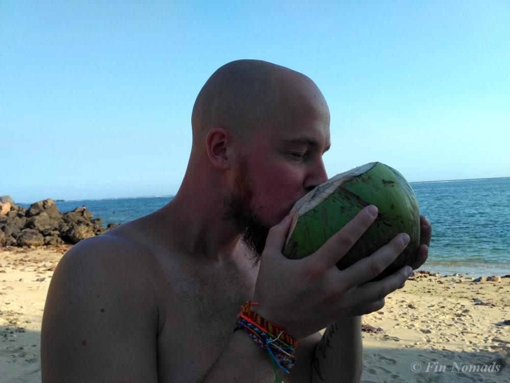 coconut kuta beach lombok