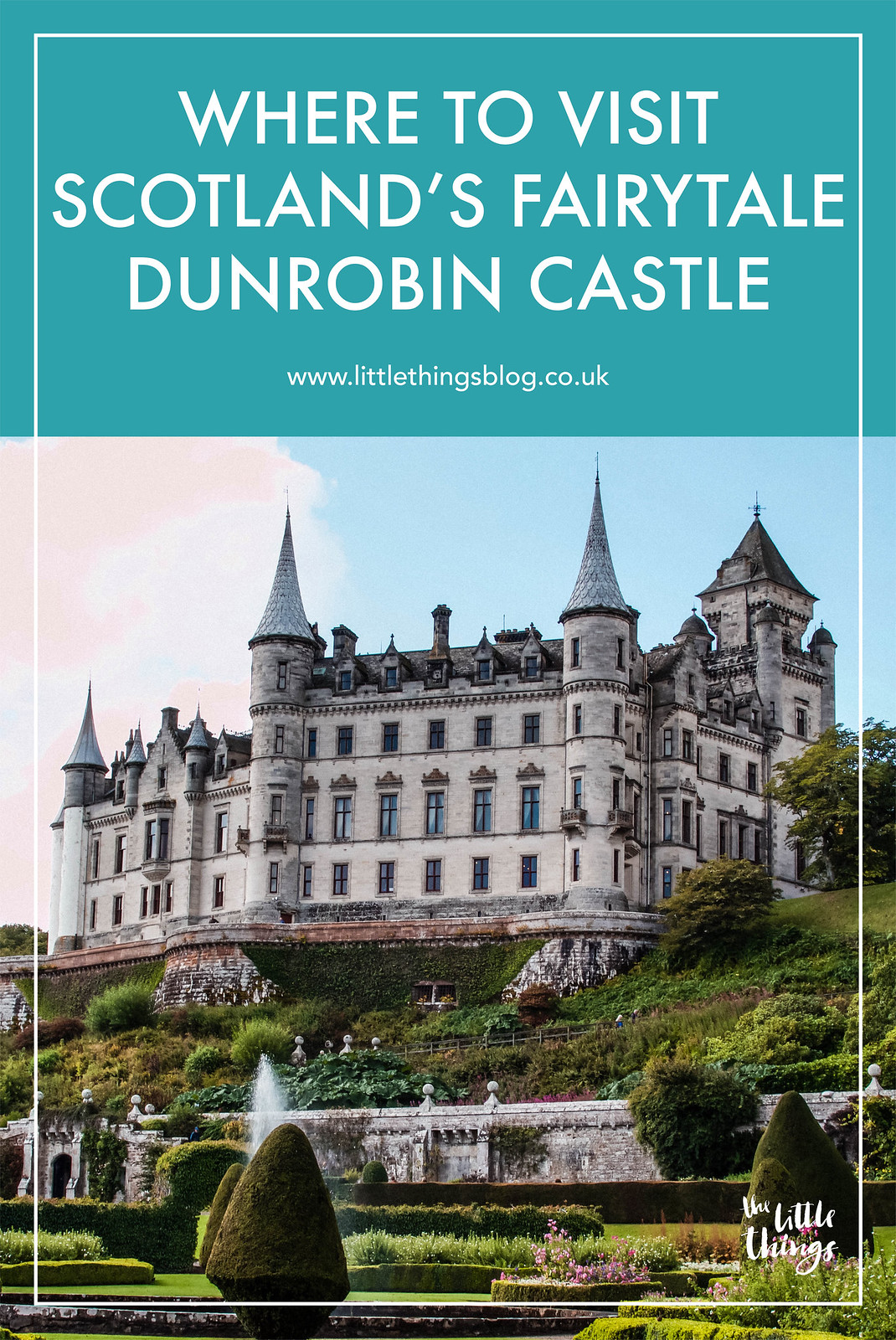 Scotland Fairytale Dunrobin Castle Golspie travel blogger UK