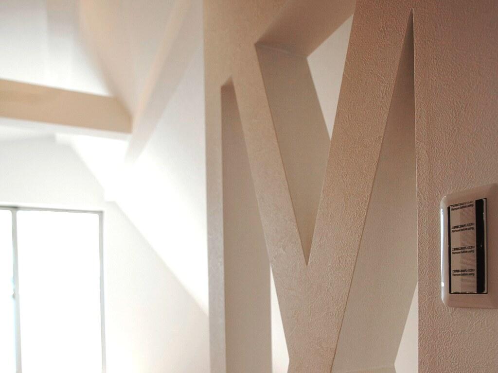 3階の居室の壁の装飾01