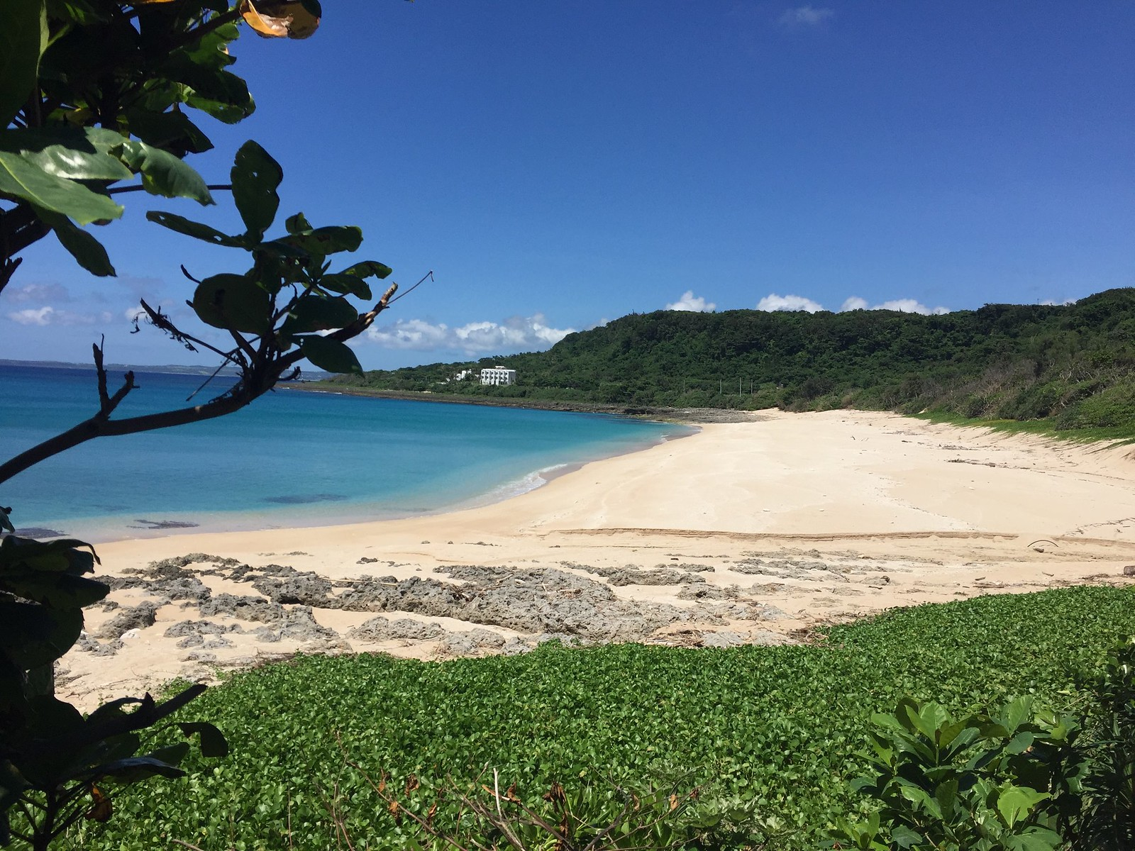 Protected beach in Kenting