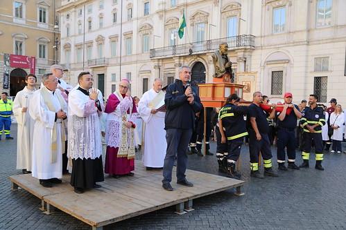 Commemorazione Padre Pio da Petralcina protettore dei Volontari della Protezione Civile