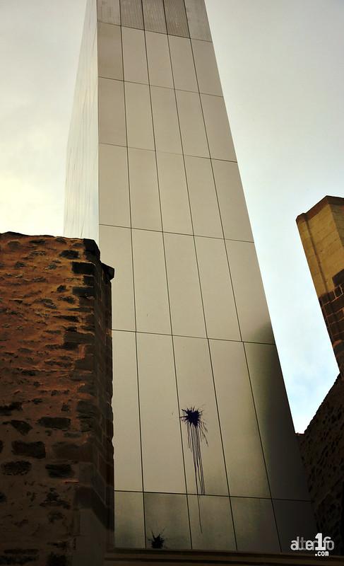 L'art urbain envahit le Centre des Congrès à l'insu de son plein gré !