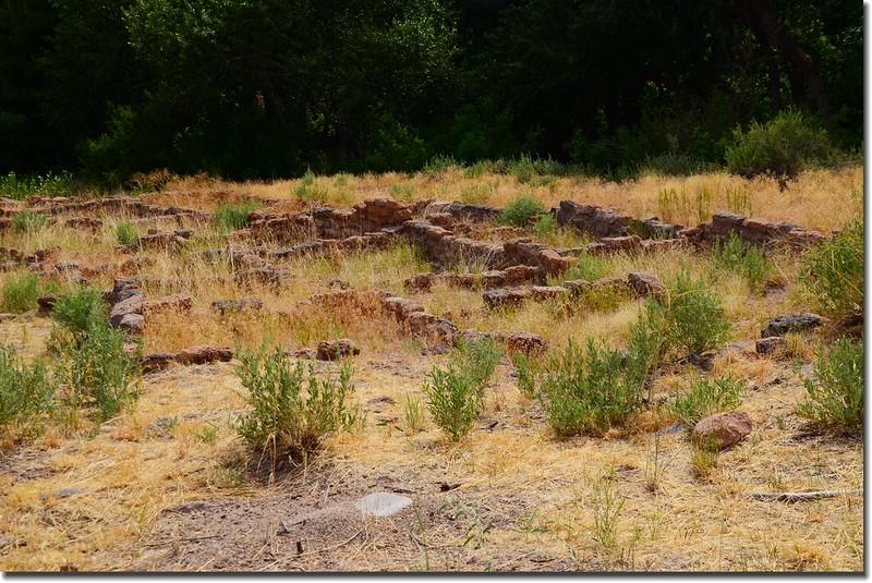 Ruins in Bandelier National Monument 3