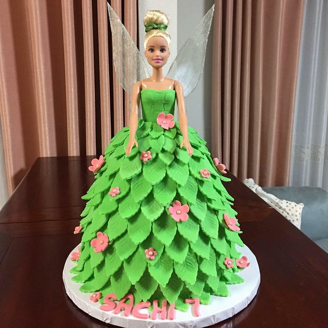 Tinkerbell Cake by Vivienne Emerald