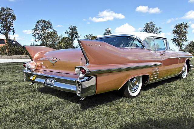 Cadillac Series 62 Coupé DeVille 1958 (5583)