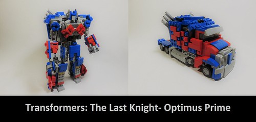 Lego Transformers The Last Knight- Optimus Prime