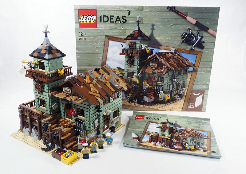Brickfinder review lego ideas old fishing store 21310 for Lego ideas old fishing store