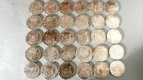 Rooswijk shipwreck coins