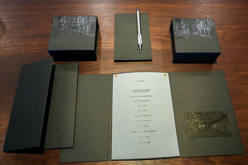 Momofuku Ko menu