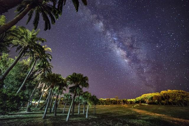 墾丁●鵝鑾鼻燈塔~南洋風情銀河星空~ Milkyway