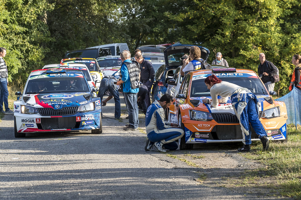 ambiance during the 2017 European Rally Championship ERC Barum rally,  from August 25 to 27, at Zlin, Czech Republic - Photo Gregory Lenormand / DPPI